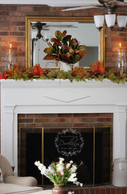 Creating Fall Candles