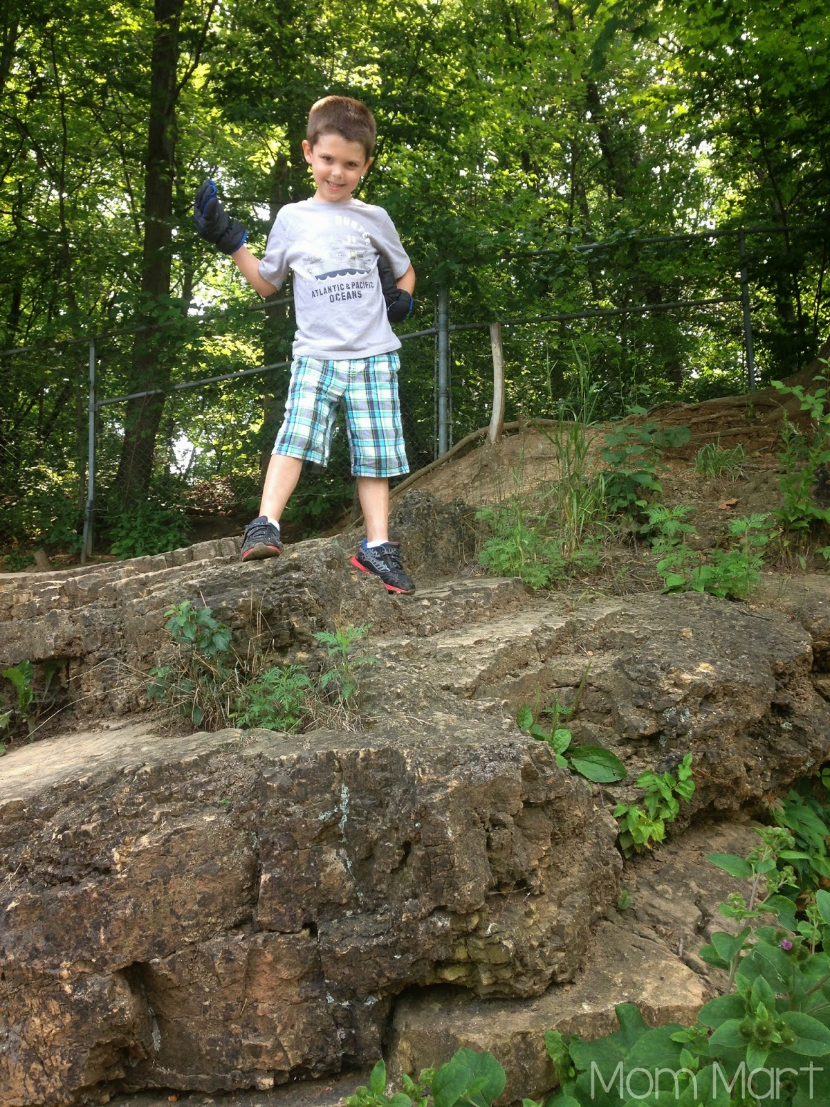 Fun and Free in Illinois: Red Oak Nature Center #Cave
