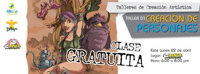 taller creacion de personajes gratuito
