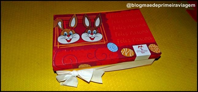 MamãeBox de Abril: Caixinha de Páscoa