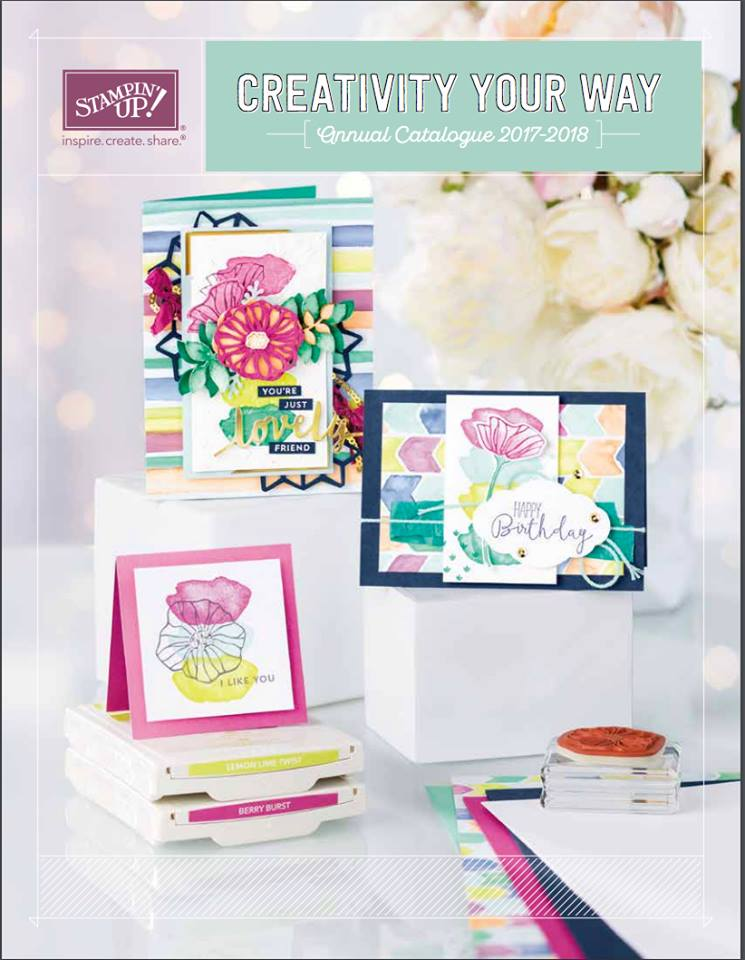 2017-2018 Stampin Up Catalogus