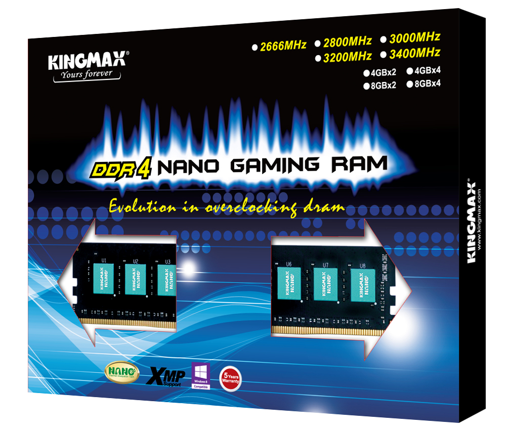 Kingmax DDR4 Nano Gaming RAM