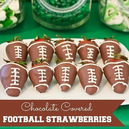 SuperBowlSnacks-FootballStrawberries
