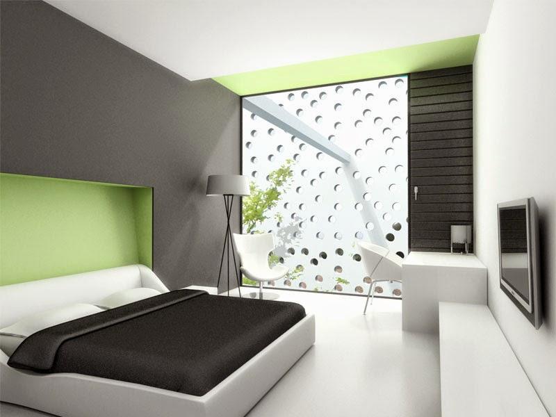 desain kamar tidur utama modern