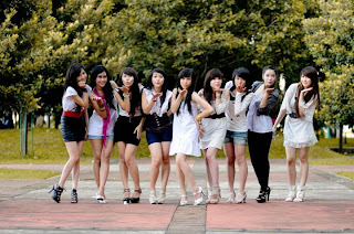 Cherry Belle,Girl Band