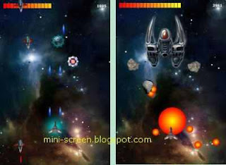 Space War HD: Android Free Game Application Interface