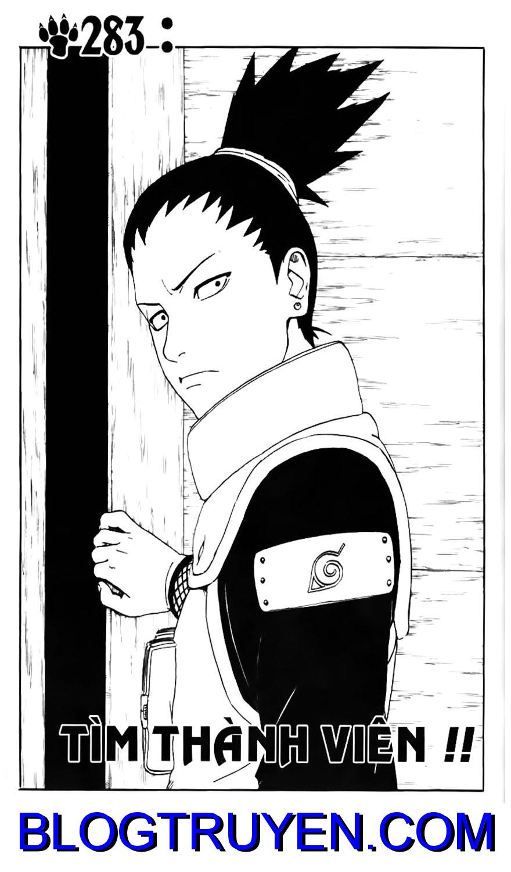 Naruto chap 283 Trang 1 - Mangak.info