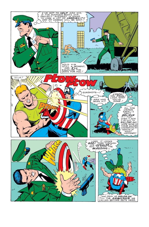 Captain America (1968) Issue #331 #260 - English 22
