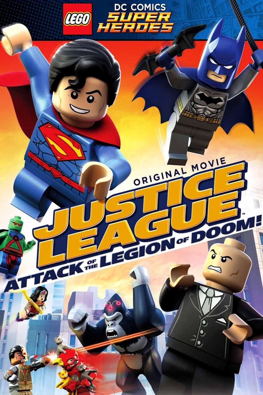 LEGO Liga da Justiça: O Ataque da Legião do Mal Torrent - Blu-ray Rip 1080p Dublado (2015)