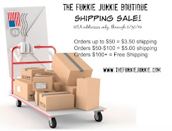 June Shipping Sale at The Funkie Junkie Boutique!
