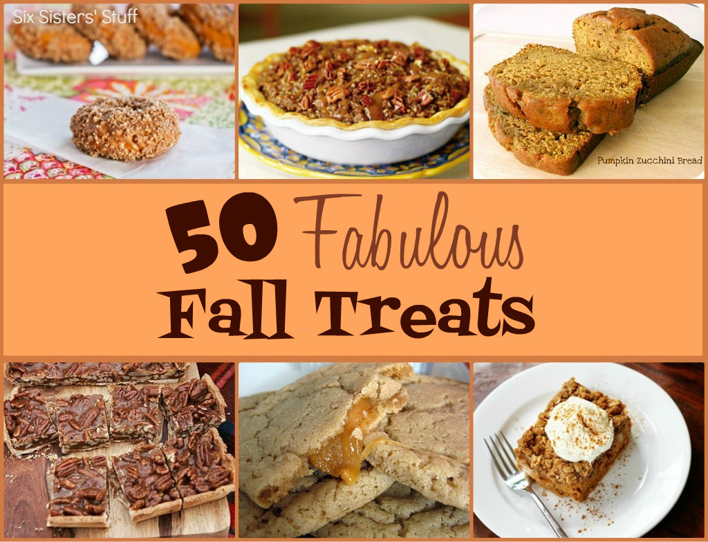 50 Fabulous Fall Treats Six Sisters Stuff