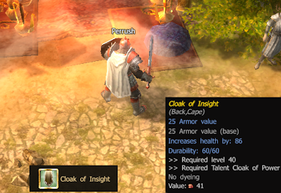 Drakensang Online Cloak of Insight