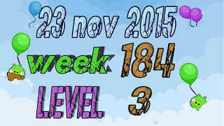 Angry Birds Friends Tournament level 3 Week 184