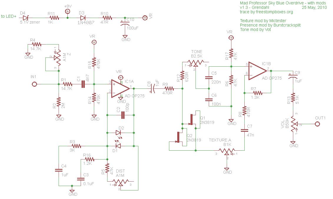 Schematics in addition Bazz Fuss Schematic furthermore Tone Bender Mki Schematic as well Fender Deluxe   Wiring Diagram likewise Boss Bd 2 Mods 1. on tone knob pedal schematic