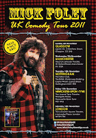 mick foley, stand up comedy, uk