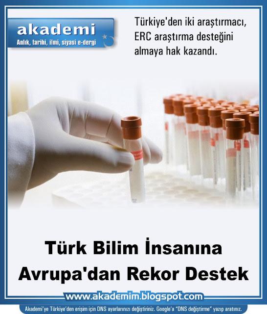 Türk Bilim İnsanına Avrupa'dan Rekor Destek