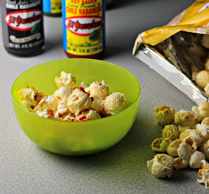 Sweet Spicy Popcorn #SauceOn #shop