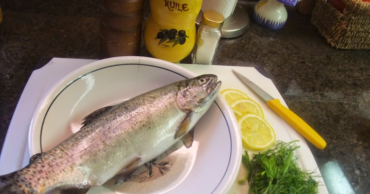 Susan's Savour-It!: Pan-Fried Stuffed Whole Trout with ...