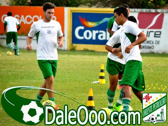 Oriente Petrolero - Alcides Peña - Fernando Saucedo - DaleOoo.com página del Club Oriente Petrolero