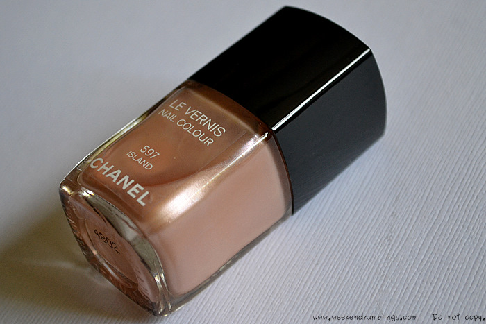 Chanel Summer Makeup 2012 Le Vernis Island Nail Polish Laquer Color Beauty Blog Swatches Reviews NOTD