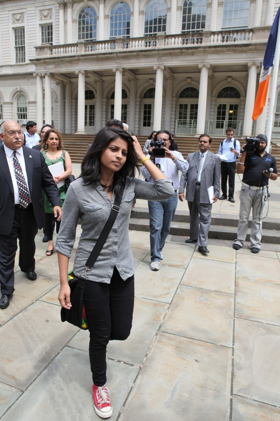 Indian-girl-Krittika-Biswas-arrested-abused-tortured-humiliated-NYPD-NewYork-Jail-handcuff-prison