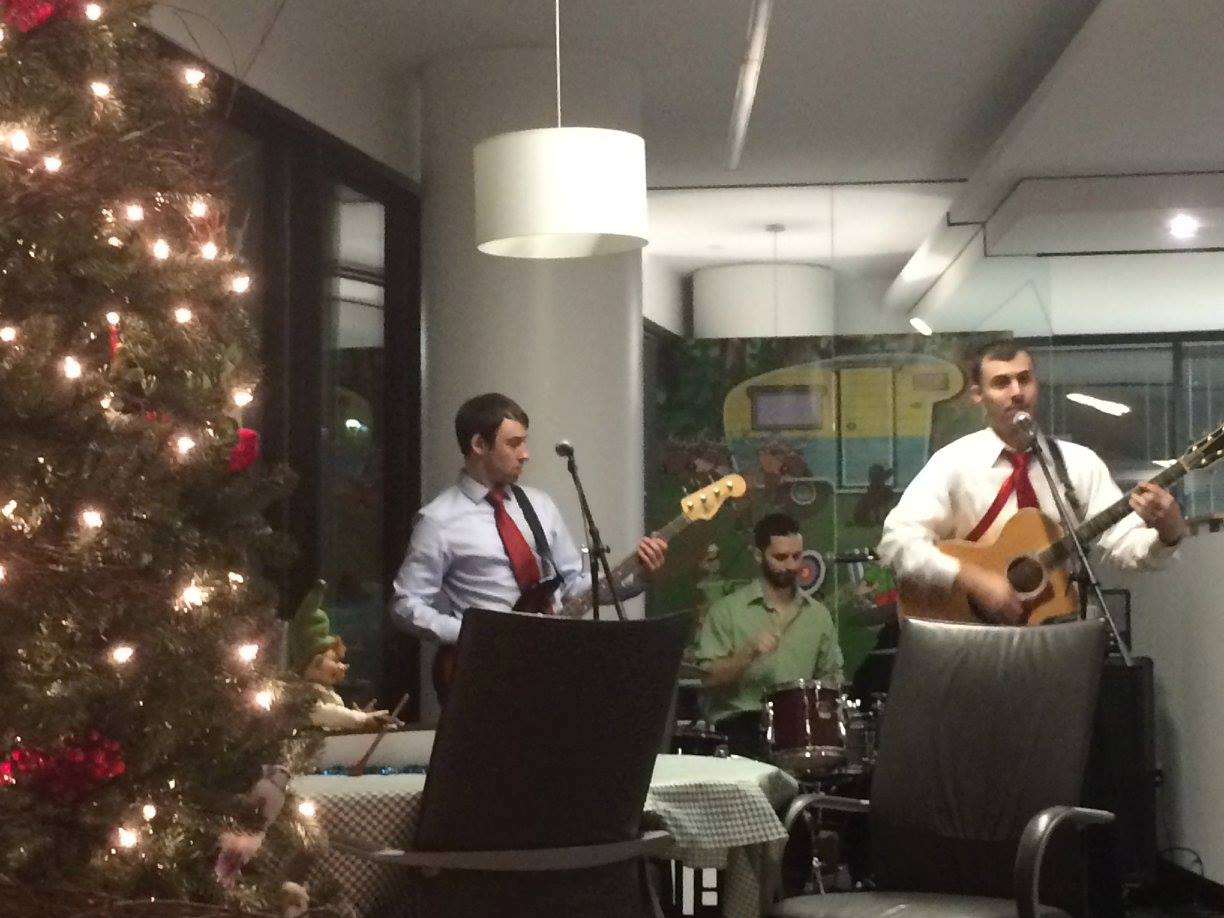 office christmas party band