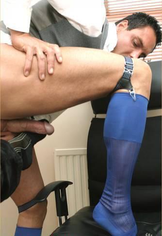 Pantyhose cock sock