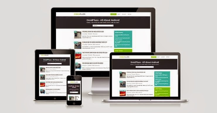 Download Template DroidPluss Responsive Kang Ismet