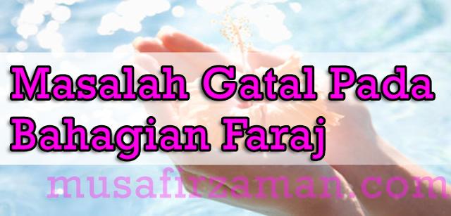 Gatal-Faraj-kemaluan