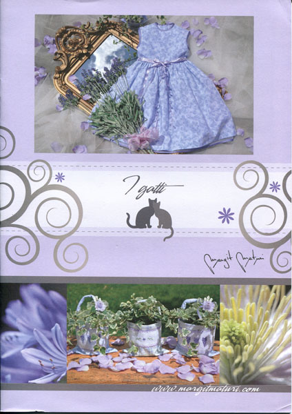 """Libretto punto croce """"i gatti"""" Margit Maturi"""