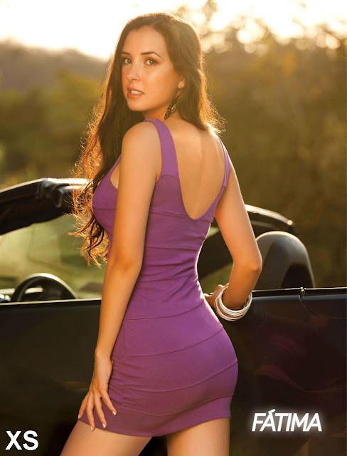 Andrea Garcia en la Revista H Extremo Agosto 2011