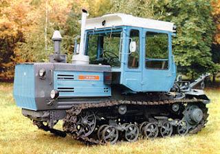 Гусеничный трактор ХТЗ-200