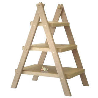 Escada floreira, banqueta escada, onde encontrar, blog Achados de Decoração