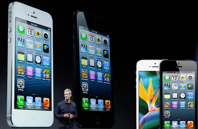 iPhone 5 Released in Apple iPhone Event in September 2012