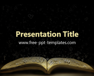 Free PowerPoint Templates: Black | Free PowerPoint templates