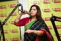 Actress Dimple Kapadia At Radio Mirchi Studio