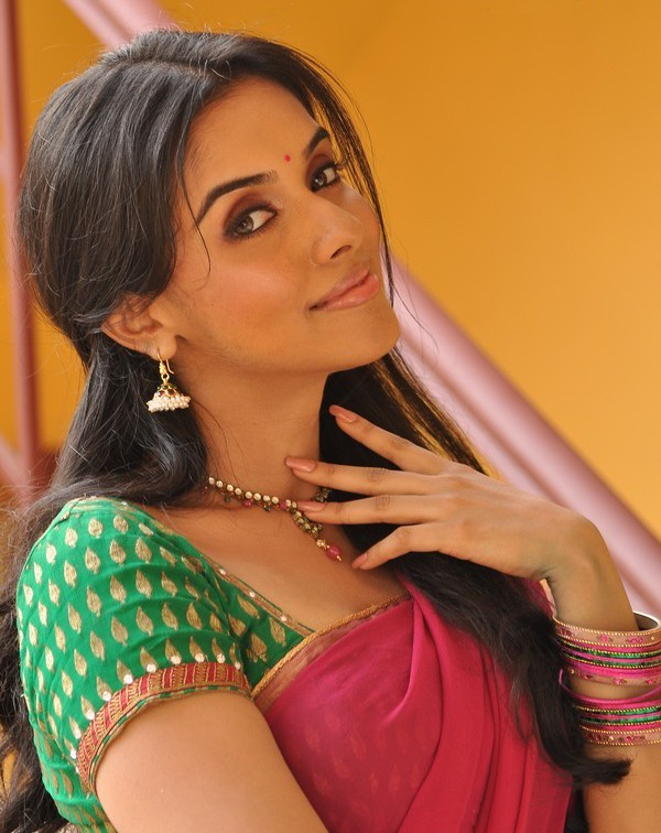 Asin's Beautiful Pictures in Saree