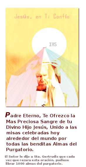 san Juna pablo estampa para orar