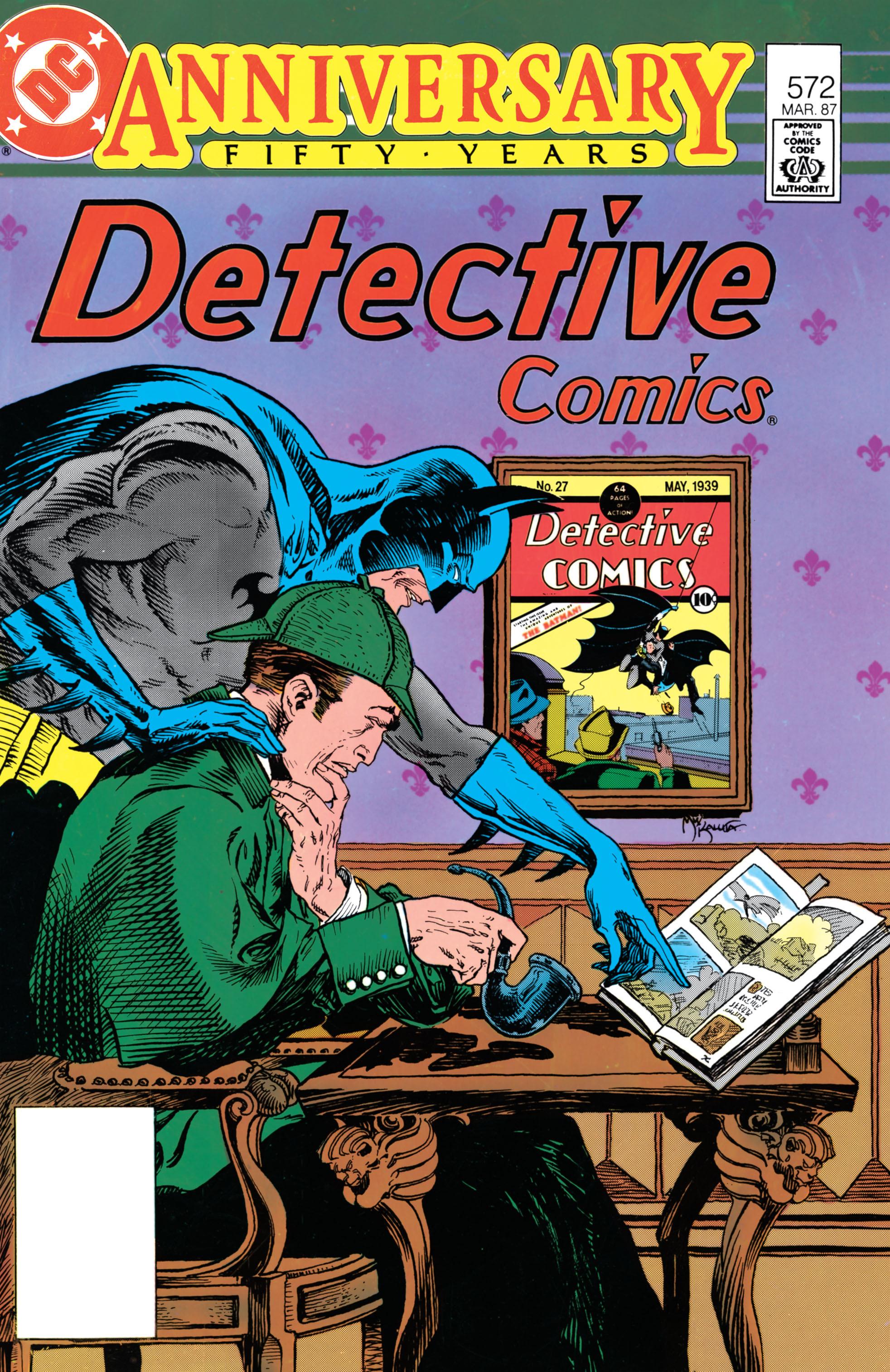 Detective Comics (1937) 572 Page 1