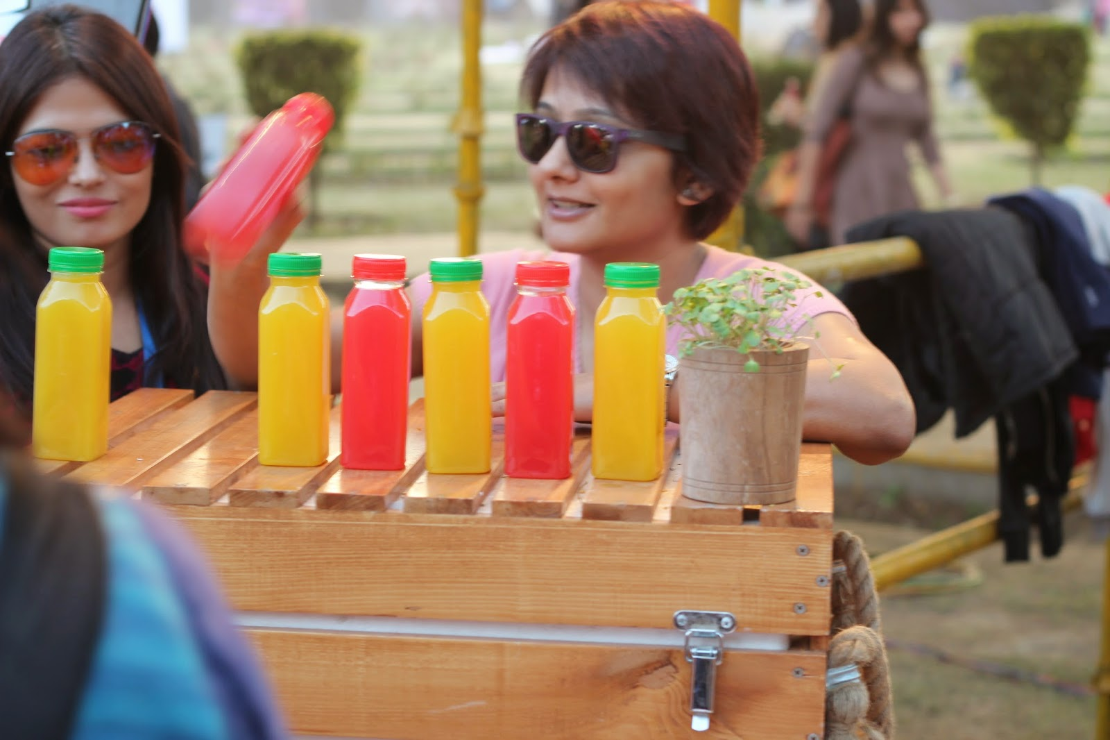 Juice up, Palate Fest 2014, food festival