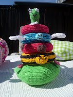 stacking toy 'pond with friends'