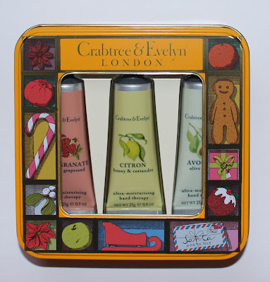 Crabtree & Evelyn Fruit and Botanicals Hand Therapy Tin