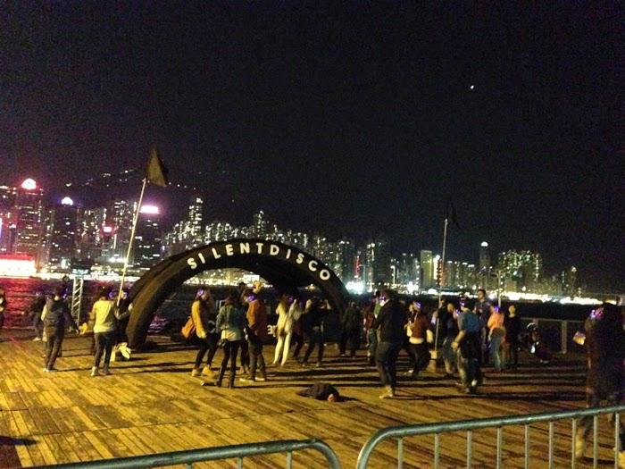 Clockenflap 2013 Hong Kong. Silent Disco.