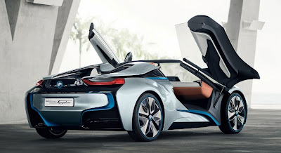 This Is The Bmw I8 Spyder Concept That Will Debut At Upcoming Beijing Motor Show Comes Barely A Year After Wheeled Out I3 And