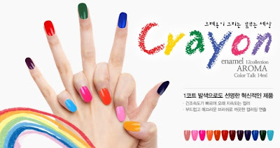 Frenznail Crayon Colors