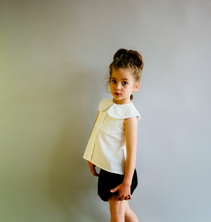 Wolf & Rita Spring-Summer 2015 kids fashion - black and white styles