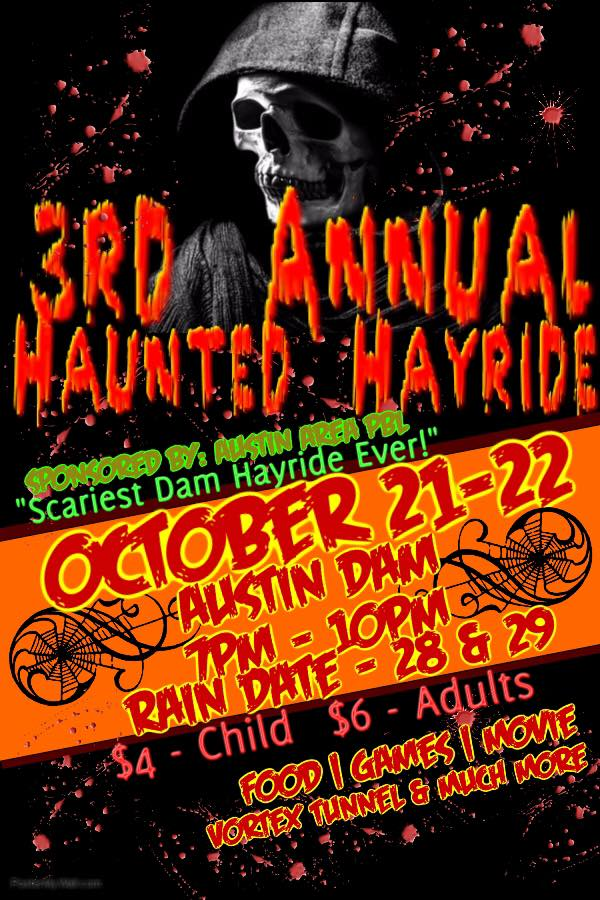 10-28/29 Haunted Hayride, Austin