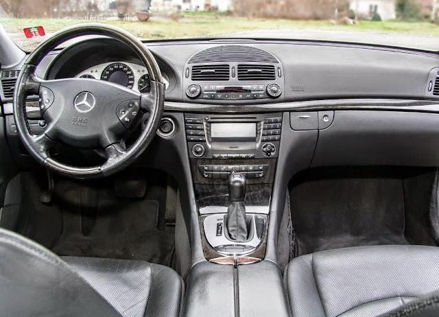 w211 e500 interior