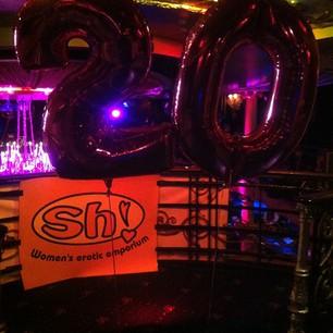 Happy 20th Anniversary Sh! Womenstore