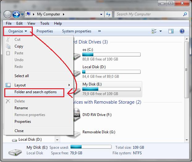 Cara Mengaktifkan Fitur Check Box di Windows